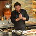 Scott Conant preparing the short ribs