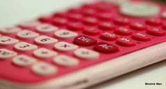 Day 134 Calculator (mootzie) Tags: pink buttons rubber numbers calculator press maths answers calculate