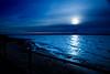 Blue Skies (juliereynoldsphotography) Tags: sunset sea shadows blueskies wirral westkirkby juliereynolds