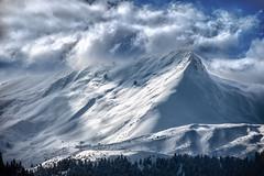 where gods reside (dtsortanidis) Tags: trees winter 2 sky mountain snow clouds canon lens landscape photography mark greece ii 5d 18 mk dimitris 200mm dimitrios metsovo flickrduel tsortanidis magagr dtsortanidis