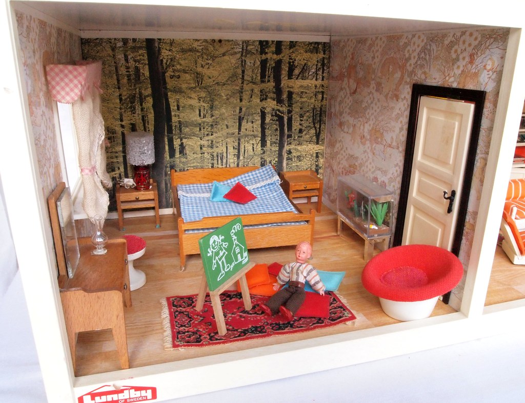 The world 39 s best photos of dolls and lundby flickr hive mind for Innenarchitektur 1960