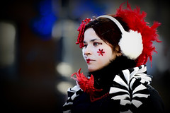Dfil du pre Noel Montreal 2012. Concentration (Michel Benghozi of Montreal) Tags: girls portrait woman canada girl female pose donna interesting mujer nikon perfect pretty photographer quebec montreal femme mulher photojournalism portrt best mysterious fullframe frau nikkor miss fille beautifuleyes portrat photojournalist greyeyes 200mm weddingphotographer weddingphotography festivalmontreal perfectportrait womanportrait photographer girlsportrait bestportrait d3s showmontreal 70200mmf28vrii mbenghozi michelbenghozi girlsofmontreal paradedenoel2012montral christmasparademontreal2012 dfilduperenoel montreals2012santaclausparade carnavalmontreal carnivalmontreal ftesmontreal dfilduprenoelmontreal2012concentration christmasinmontreal christmasinmontreal2012 noel2012montreal christmas2012montreal montreal