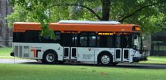 Tiger Transit (afagen) Tags: bus campus newjersey nj princeton princetonuniversity tigertransit