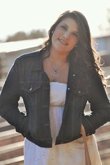 laynes photos` 1370 (Layne;)) Tags: sunlight senior girl smile fashion hair outdoors happy dress photoshoot makeup denim cowgirl curlyhair jewlry laynesphotos
