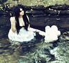 (Chloe Maria.) Tags: portrait green water self teddy surreal fantasy brookeshaden