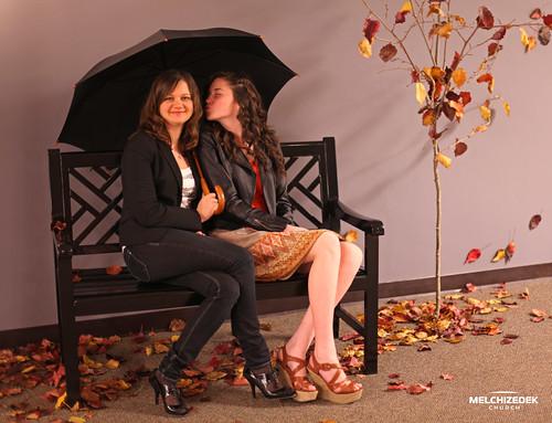 Alesya with Her Leader Tanya