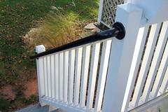 Wall 565 - Porch Post Mounted Railing