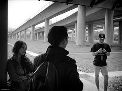 street snap @ Jurong East MRT (The91) Tags: life street leica people bw film girl train 35mm singapore kodak trix 11 snap 400tx d76 summicron negative 400 mrt jurong leicam7 m7 summicronm removedfromleicawomengroupbecausethisshotisnotapicofawomanwithaleicacamerabody leicasummicronm1235mm