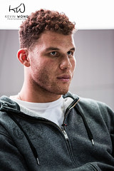 Blake Griffin: Facial Expression (Kevin.Wong Photography) Tags: auto show california wedding girls people usa celebrity basketball portraits canon happy photography la losangeles funny lifestyle professional entertainment socal autograph mad blake headshots nba lakers griffin clippers blakegriffin