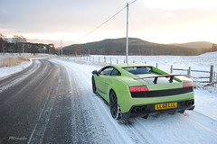 Bull in the Snow (PWphotography) Tags: snow cars car speed scotland snowy scottish fast exotic aberdeen speedy lamborghini supercar gallardo sportscar sportscars supercars fastcar lamborghinigallardo superleggera gallardosuperleggera lamborghinigallardosuperleggera sueprcars