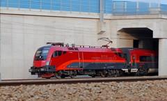 Railjet (austrianpsycho) Tags: 2 train engine siemens eisenbahn railway zug locomotive taurus bahn öbb fahren 225 lokomotive lok oebb elok 1116 2254 elektrolok elektrolokomotive railjet öbbrailjet 1116225 11162254