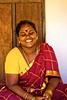 Flawless laugh | கள்ளமில்லா சிரிப்பு (skvsree) Tags: india yellow lady 35mm canon oracle tokina laugh saree astrology dakshinchitra t2i skvsree குறிசொல்லுதல்
