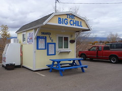 The Big Chill (QsySue) Tags: digital lumix utah panasonic pointandshoot digitalcamera shaveice shavedice thebigchill laverkin digitalpointandshoot shavedicestand panasoniclumixdmczs8