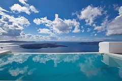 Santorini (divinumphoto) Tags: pictures sea wallpaper italy house photos santorini luxury