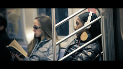 MTA  NYC (Orione59) Tags: street nyc people laura photography bokeh streetphotography mta cinematic ef135mmf20 5dmk3 orione1959 orionephotographer