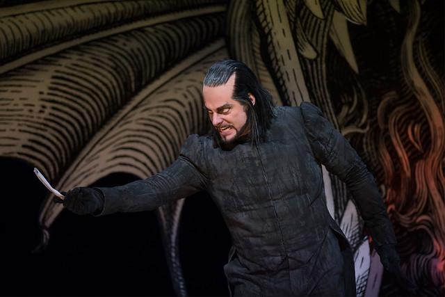 John Reylea as Bertram in Robert le diable © ROH / Bill Cooper  2012