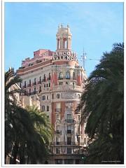 Valencia, Spanien - Banco de Valencia