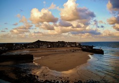 St ives harbour2 (E.Hphotography) Tags: sunset sea sky colour clouds town harbour stives beautifull