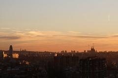 sunset on BCN (beegee74) Tags: barcelona sunset espaa spain catalunya torreagbar santiagocalatrava palaunacional espanya jeannouvel antonigaud viewfromthehill museunacionaldartdecatalunya torredetelecomunicacionesdemontjuc baslicaitempleexpiatoridelasagradafamlia asseenfrombadalona mnaccat