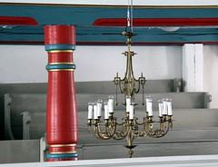(:Linda:) Tags: church germany village thuringia chandelier column pew sule stkilian kirchenbank autobahnkirche highwaychurch