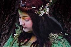 fairy (vereiasz) Tags: woodland costume makeup fairy gaia bristolrenaissancefaire 2012 pretend fantasticals vereiasz