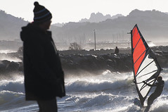Mistral 1 (marcovdz) Tags: sea people mer storm france beach vent marseille waves wind prado provence vagues plage gens sailboard tempte mistral borely planchevoile vliplanchiste sailboarder