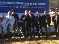 Millard Henry Medical Clinic Ground Breaking Ceremony December 2012