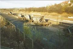 Derailed HAA hoppers (2) (James DEMU) Tags: train wagon crash accident railway hopper derailed wagons haa toton