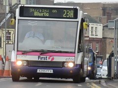 First PMT 40025 (chris 40142) Tags: first solo hanley pmt optare 23a 40025 x295ffa