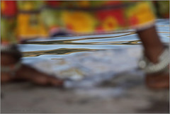 narmada .. (nevil zaveri (thank you for 10 million+ views :)) Tags: zaveri people mp india narmada madhyapradesh photography photographer images photos blog holy stockimages river rivers photograph photographs nevil nevilzaveri stock photo landscape ghat bank water omkareshwar woman women feet anklet reflectio
