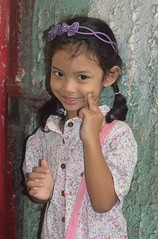 cute girl (the foreign photographer - ) Tags: jul242016nikon cute girl child khlong thanon portraits bangkhen bangkok thailand nikon d3200