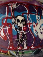Aerosol Art (Markus Rdder (ZoomLab)) Tags: streetart art graffiti graffito aerosol muenster aerosolart skelett dahlweg
