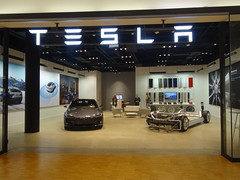 Malm: Tesla Store (harry_nl) Tags: sweden sverige 2016 malm hyllie tesla models store emporia shoppingcentre