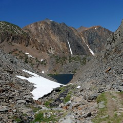 View back down the rocky ravine leading to Helen Lake (openspacer) Tags: inyocounty inyonationalforest