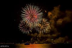 Feux artifice Bienne-528322 (ousktamitamoto) Tags: feu artifice 1er aot fte nationale lac de bienne feuerwerk bielersee bern schweiz suisse switzerland firework lake couleur see night nuit photos