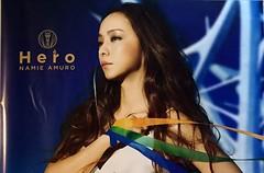 Single Vinyl_HERO (5) Poster (Namie Amuro Live ) Tags: namie amuro  hero singlecover jacketsscans poster vinylcover