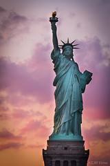 Standing Tall.... Lady Liberty (Reggie TheJazzman) Tags: statue liberty statueofliberty newyork nyc manhattan city island reggiethejazzman canon 7d sjmvisions