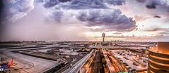 Sky Harbor Dust Storm (Slavo_G) Tags: nature haboob monsoon skyharborairport phoenix