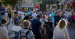 Drawing the Crowd (milesbrenneman) Tags: crowd music performance street jazz jazzfest toronto woodbinebeach downtown city musicians band artists sony rock rockandroll entertainment live concert