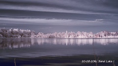 Sand Lake I. (ntemptm) Tags: cloud cplfilter day naturelovers idyllic infrared nature ndfilter nopeople nonurban outdoor polarized sand scenic sky tranquility sunsetporn water lake