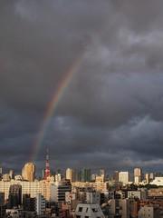 Over the rainbow (Kito K (fxkito2)) Tags: instagram tokyotower cityscape
