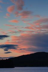 IMG_1410-1 (Andre56154) Tags: schweden sweden sverige see lake wasser water ufer wolke cloud himmel sky dmmerung dawn evening abend sunset afterglow