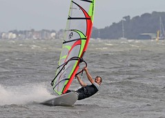 Aug20395a (Mike Millard) Tags: hamworthypark pooleharbour windsurfers