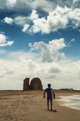 K e e p O n S u r f i n g (Andrea LD) Tags: surf surfer cloud sky torreflavia torre flavia sea canon eos 6d ef 24105 24105mm f4 l is usm menintheworld