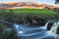 Falls (Joel Bramley) Tags: water waterfall river long exposure victoria sunset australia