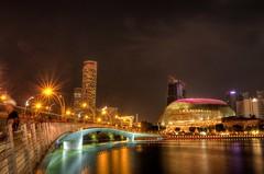 Merlion Park_S'pore (yewhoegoh) Tags: merlion park singapore night star burst cityscape