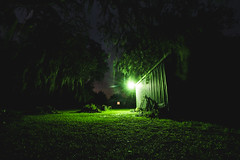 _DSC9507 (CassinStacy) Tags: forest florida woodlands night dusk sky clarity spooky dark scary evening radio tower