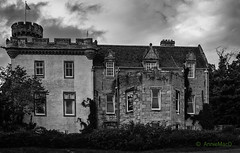 Tulloch Castle (AnnieMacD) Tags: bw dingwall rossshire scotland tullochcastle