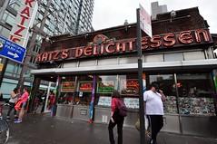 Katz's Delicatessen (markusOulehla) Tags: streetimpressions katzsdelicatessen pastramisandwich cornedbeefsandwich nyc newyorkcity markusoulehla nikond90 citytrip thebigapple usa manhattan