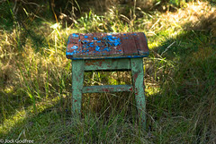 Lonely stool (Dave and Jodi Piddington) Tags: chernobyl ukraine holiday decay abandonedbuildings death history nucleardisaster accident travel dark tourism darktourism photography architecture nuclear disasters adventure kiev blackandwhite